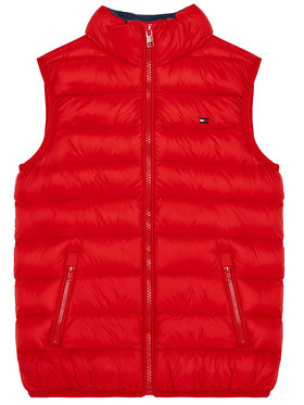 TOMMY HILFIGER TOMMY HILFIGER Γιλέκο U Light Down KS0KS00127 Κόκκινο Regular Fit
