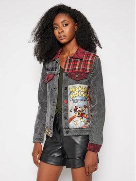 Desigual Desigual Farmer kabát DISNEY Chaq India 20WWED32 Szürke Regular Fit