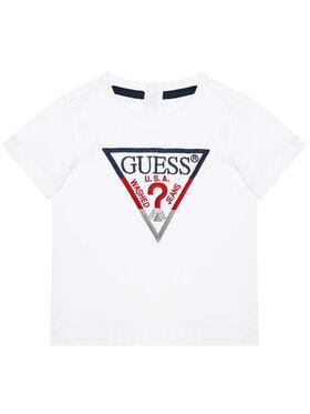 Guess Guess Marškinėliai H1RT06 K8HM0 Balta Regular Fit
