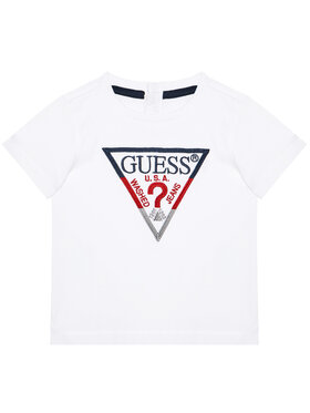 Guess Guess T-Shirt H1RT06 K8HM0 Bílá Regular Fit