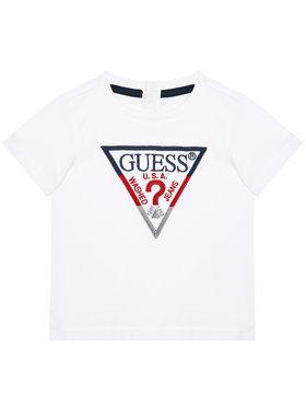 Guess Guess Tričko H1RT06 K8HM0 Biela Regular Fit