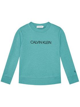 Calvin Klein Jeans Calvin Klein Jeans Bluza Unisex Institutional Logo IU0IU00162 Niebieski Regular Fit