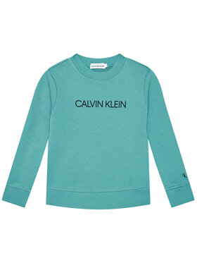 Calvin Klein Jeans Calvin Klein Jeans Felpa Unisex Institutional Logo IU0IU00162 Blu Regular Fit
