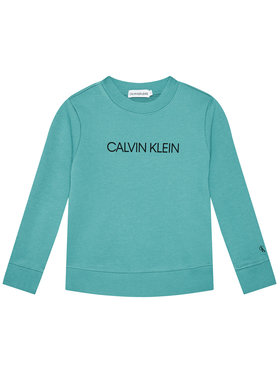 Calvin Klein Jeans Calvin Klein Jeans Mikina Institutional Logo IU0IU00162 Modrá Regular Fit