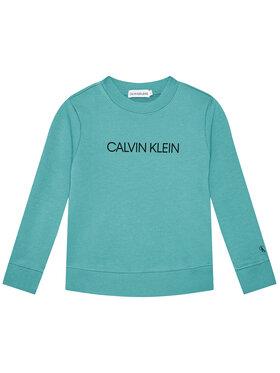 Calvin Klein Jeans Calvin Klein Jeans Sweatshirt Unisex Institutional Logo IU0IU00162 Bleu Regular Fit
