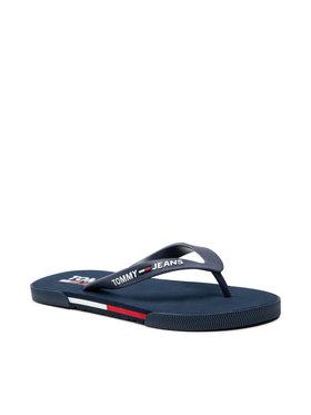 Tommy Jeans Tommy Jeans Šlepetės per pirštą Men Beach Sandal EM0EM00731 Tamsiai mėlyna