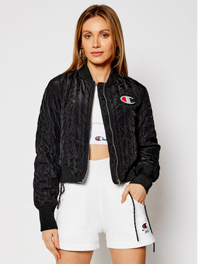 Champion Champion Bomber Textured Cropped 113039 Crna Custom Fit