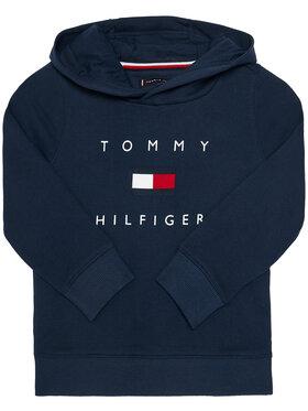 TOMMY HILFIGER TOMMY HILFIGER Mikina Logo KB0KB06142 M Tmavomodrá Regular Fit