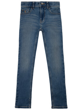 Calvin Klein Jeans Calvin Klein Jeans Farmer IB0IB00406 Sötétkék Skinny Fit