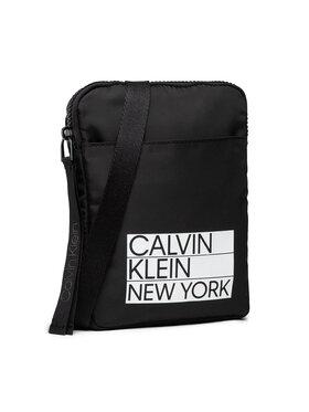 Calvin Klein Calvin Klein Geantă crossover Flatpack S K50K506984 Negru