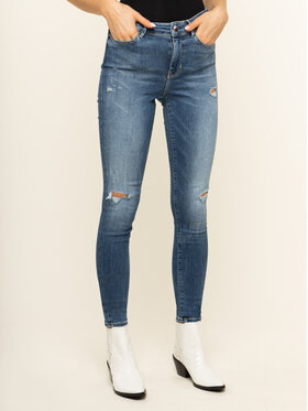 Guess Guess jeansy Skinny Fit W01A46 D38R7 Blu scuro Skinny Fit