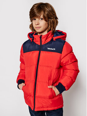 Timberland Timberland Zimná bunda T26515 S Červená Regular Fit