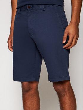 Tommy Jeans Tommy Jeans Bavlnené šortky Scanton DM0DM11076 Tmavomodrá Slim Fit