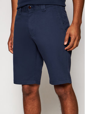 Tommy Jeans Tommy Jeans Medžiaginiai šortai Scanton DM0DM11076 Tamsiai mėlyna Slim Fit