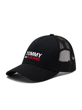 Tommy Jeans Tommy Jeans Czapka z daszkiem Tjm Flag Trucker AM0AM07172 Czarny