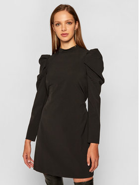 Pennyblack Pennyblack Koktejlové šaty Ercole 12240820 Černá Regular Fit