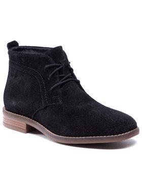 Clarks Clarks Členková obuv Brean Lace 261600504 Čierna
