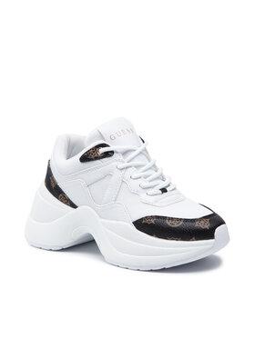 Guess Guess Sneakersy Joehle FL7JOE FAB12 Biały