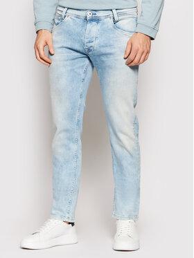 Pepe Jeans Pepe Jeans Jeansy Spike PM200029 Niebieski Regular Fit