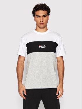 Fila Fila T-Shirt Anoki 688468 Šedá Regular Fit