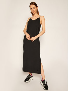 Nike Nike Плетена рокля Sportswear CJ3750 Черен Standard Fit