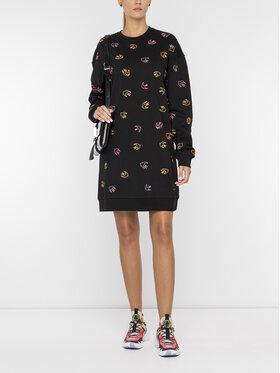 MCQ Alexander McQueen MCQ Alexander McQueen Плетена рокля 488115 RNJ55 1000 Черен Regular Fit
