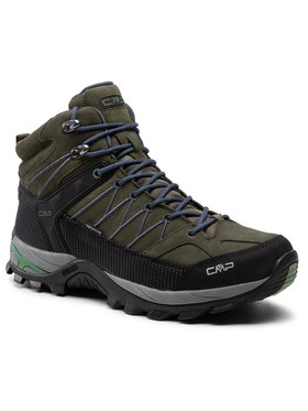 CMP CMP Παπούτσια πεζοπορίας Rigel Mid Trekking Shoe Wp 3Q12947 Πράσινο