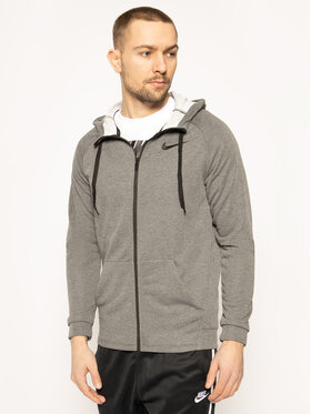 Nike Nike Суитшърт Dry Hoodie Fz Fleece 860465 Сив Standard Fit