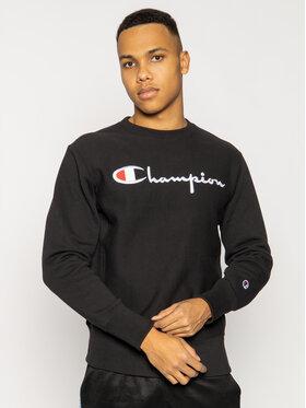 Champion Champion Суитшърт Crewneck Sweatshirt 215160 Черен Regular Fit