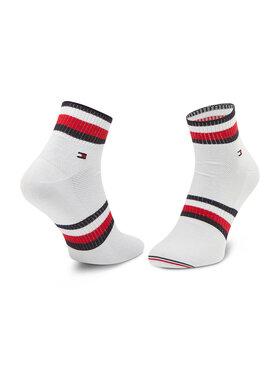 Tommy Hilfiger Tommy Hilfiger Súprava 2 párov vysokých pánskych ponožiek 100002667 Biela