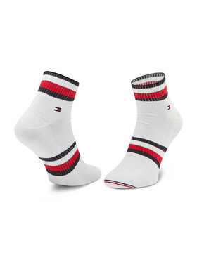Tommy Hilfiger Tommy Hilfiger Vyriškų ilgų kojinių komplektas (2 poros) 100002667 Balta