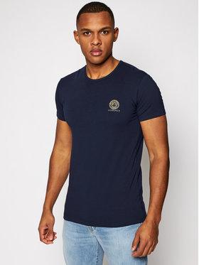 Versace Versace T-Shirt Medusa AUU01005 Dunkelblau Regular Fit