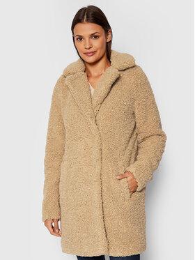 Noisy May Noisy May Зимове пальто Gabi 27010169 Бежевий Regular Fit
