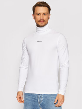 Calvin Klein Jeans Calvin Klein Jeans Golf J30J318469 Biały Slim Fit