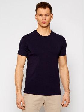 Trussardi Trussardi T-shirt Stretch 52T00499 Blu scuro Slim Fit