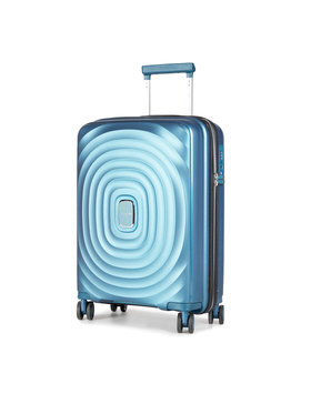 Puccini Puccini Kis kemény borítású bőrönd Buenos Aires PP017C 7 Kék