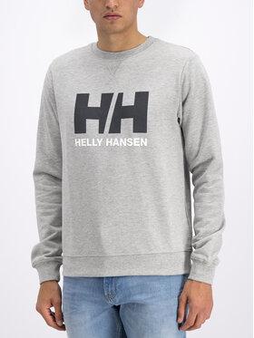 Helly Hansen Helly Hansen Majica dugih rukava Hh Logo Crew 34000 Siva Regular Fit