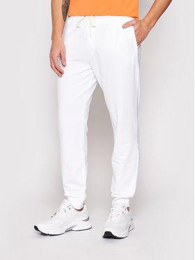 Guess Guess Spodnie dresowe Adam M1RB37 K6ZS1 Biały Slim Fit