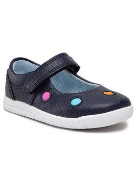 Clarks Clarks Pantofi Emery Dot T 261505127 Bleumarin