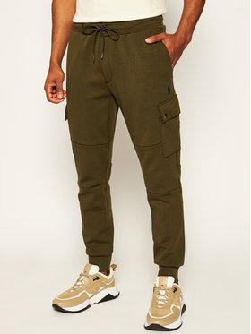 Polo Ralph Lauren Polo Ralph Lauren Teplákové kalhoty Classics 710730495006 Zelená Regular Fit