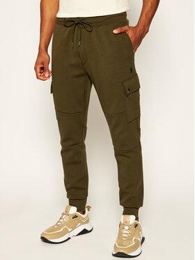 Polo Ralph Lauren Polo Ralph Lauren Teplákové nohavice Classics 710730495006 Zelená Regular Fit