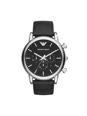 Emporio Armani Emporio Armani Часовник Luigi AR1828 Черен