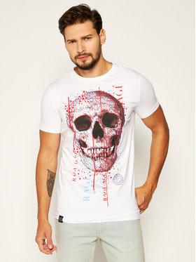 Rage Age Rage Age T-shirt Bad Boy 1 Blanc Slim Fit