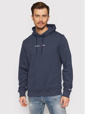 Tommy Jeans Tommy Jeans Pulóver Tjm Straight Logo DM0DM11632 Sötétkék Regular Fit