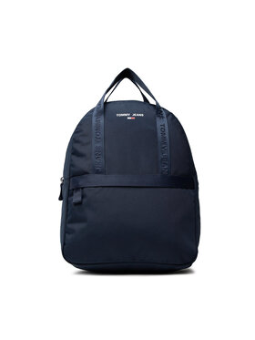 Tommy Jeans Tommy Jeans Batoh Tjw Essential Backpack AW0AW10659 Tmavomodrá