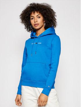 Tommy Jeans Tommy Jeans Džemperis Linear Logo DW0DW10132 Mėlyna Regular Fit
