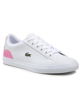 Lacoste Lacoste Sneakersy Lerond 0120 1 Cuj 7-40CUJ00131Y9 Biela