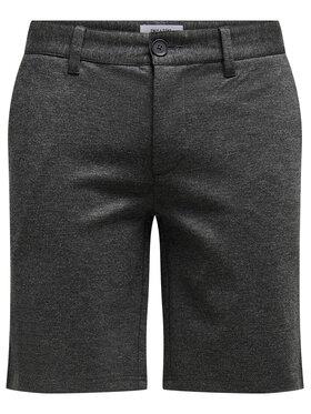 Only & Sons ONLY & SONS Bavlnené šortky Mark 22018667 Sivá Regular Fit