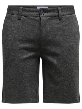 Only & Sons ONLY & SONS Pantalon scurți din material Mark 22018667 Gri Regular Fit