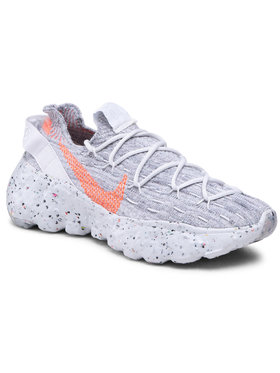 Nike Nike Sneakersy Space Hippie 04 CD3476 100 Šedá